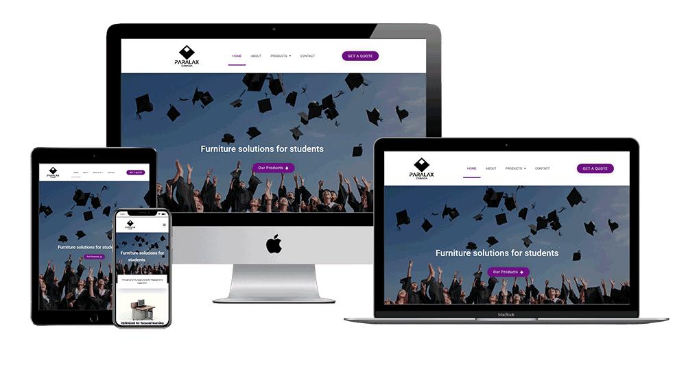 corporate web design company