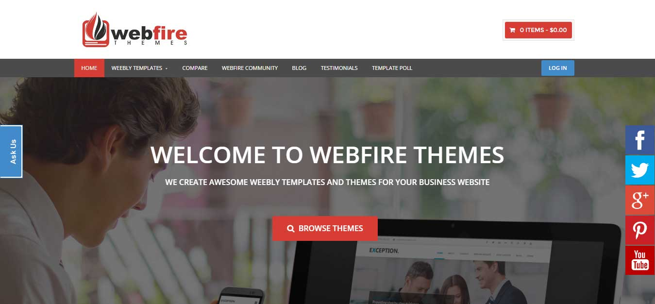 best weebly themes